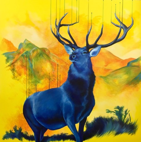 Royal Blue  - click to visit artists gallery ->