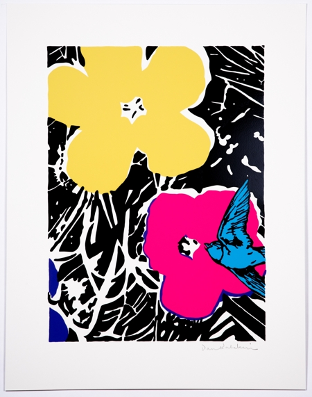 Delirium Yellow  - click to visit artists gallery ->