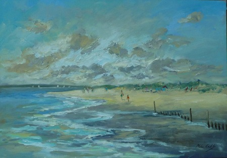 Breezy Afternoon, East Head  - click to visit artists gallery ->