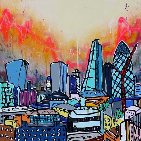 The electric rooftops collaboration with Lee Herring  - click to visit artists gallery ->