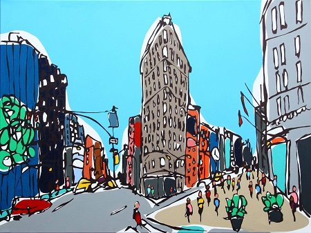 Flat Iron  - click to visit artists gallery ->