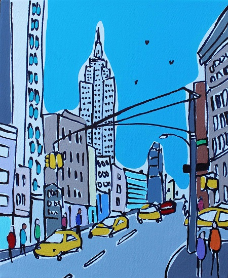 Mini Empire State  - click to visit artists gallery ->