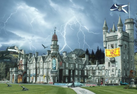 Pop Goes Balmoral  - click to visit artists gallery ->