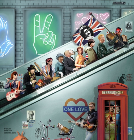 Best of British  - click to visit artists gallery ->