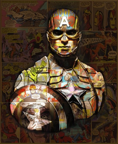 Captain America Mini Series  - click to visit artists gallery ->