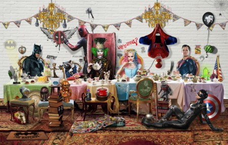 Tea Time Heroes  - click to visit artists gallery ->
