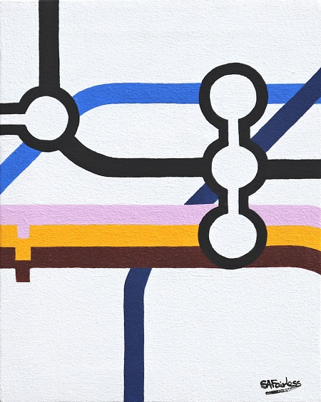 Kings Cross  - click to visit artists gallery ->