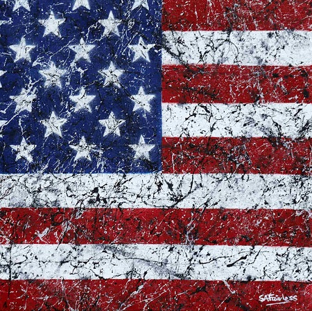 Stars and Stripes  - click to visit artists gallery ->