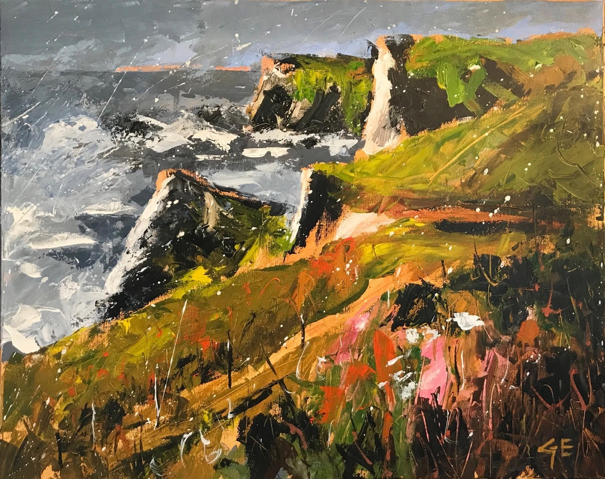 Coastal Path  - click to visit artists gallery ->
