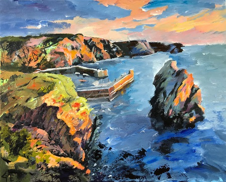 Sunset Harbour  - click to visit artists gallery ->