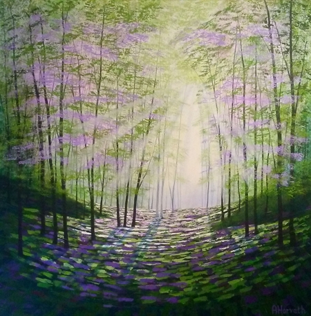 Forest Bathing  - click to visit artists gallery ->