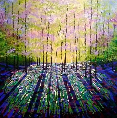 Shining Wood  - click to visit artists gallery ->