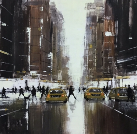 Manhattan Dawn  - click to visit artists gallery ->