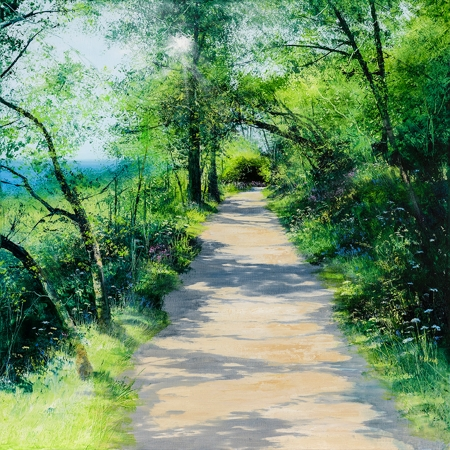 Spring Shadows  - click to visit artists gallery ->