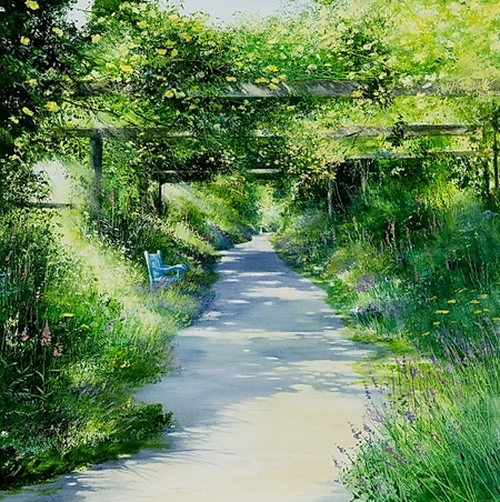 The Rose Walk  - click to visit artists gallery ->