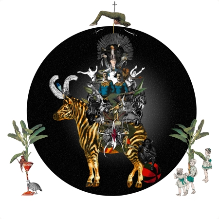 Cirque des Enfants: Zebra Crossing  - click to visit artists gallery ->