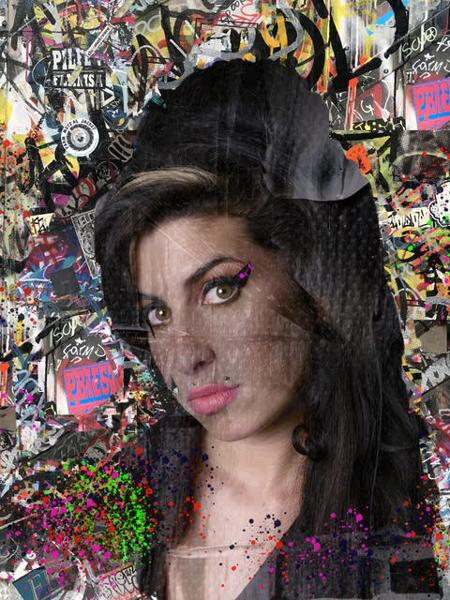 Amy- Urban Graffiti Collection  - click to visit artists gallery ->