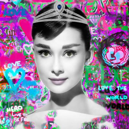 Audrey - Urban Graffiti Collection  - click to visit artists gallery ->