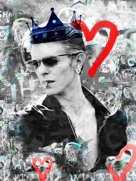 David Bowie Urban Graffiti  - click to visit artists gallery ->
