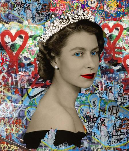 Elizabeth - Urban Graffiti Collection  - click to visit artists gallery ->