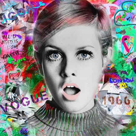Twiggy - Urban Graffiti Collection  - click to visit artists gallery ->