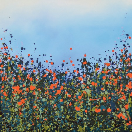 Orange Poppies  - click to visit artists gallery ->