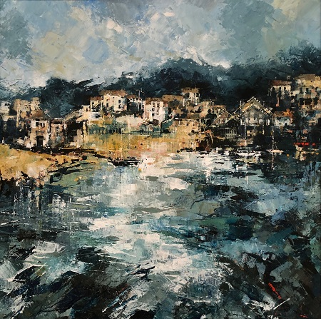 Fowey to Polruan  - click to visit artists gallery ->