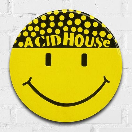 Acid House (Hacienda)giant 3D vintage pin badge  - click to visit artists gallery ->