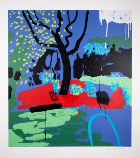 Bruce McLean  |  Turquoise Hosepipe Ban