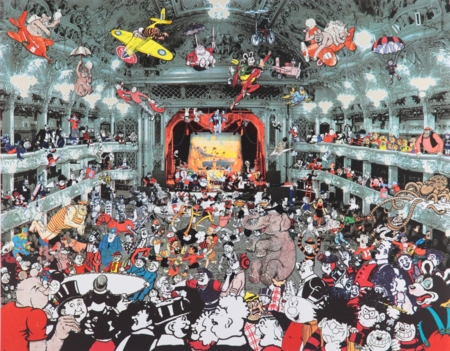Peter Blake   |  Marcel Duchamp's World Tour- DC Thomson Reunion at the Tower Ballroom, Blackpool