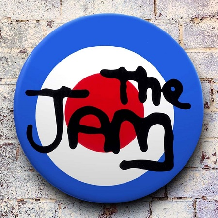 Tape Deck  |  The Jam (Target) giant 3D vintage pin badge